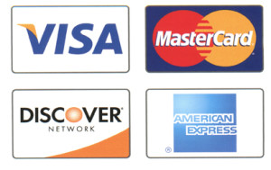 all major credit cards icons